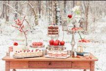 Inspiración: INVIERNO / El invierno puede ser de lo más romántico para celebrar tu boda.
