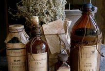 Tarros de farmacia / #tarros #farmacia #medicina #apothecary #vintage #medicine #bottles #antique