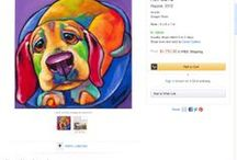 Fine Art Collectibles - Pets / Pet Products Available As Collectibles and Fine Art