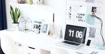 Arbeitszimmer / Als selbstständige Englisch- und Expat-Trainerin verbringe ich viel Zeit in meinem Home Office. Groß ist es nicht, dafür umso gemütlicher. Damit der Kreativität keine Grenzen gesetzt sind.