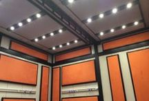 Manchester Met Uni / BOXY E Level modular room installation into MMU for film and audio editing