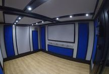 Private Music Room / Amadeus Acoustic Solutions built this BOXY modular music practice room in approx 3 days, within the client's second bedroom.