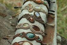 Bracelets, necklaces, earrings...