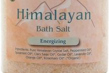 Himalayan Bath Salts, Body Soaps / This board features our quality bath salts and body soaps to pamper body and have smooth and beautiful skin. See more of our bath salts here: http://www.namastebookshop.com/bath-salts/ and bath soaps here: http://www.namastebookshop.com/body-soap/