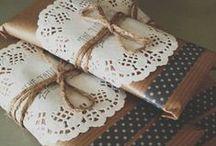 Díszcsomagolás | Gift Wrapping Ideas