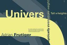 Univers / Adrian Frutiger / Adrian Frutiger, 1969