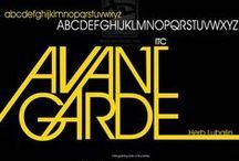 ITC Avant Garde / Herb Lubalin / ITC, 1970