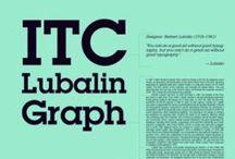 ITC Lubalin Graph / Herb Lubalin / ITC, 1974
