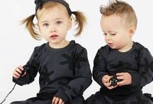 Baby Rompers / Playsuits / Hip Unisex Monochrome Baby Rompers and Playsuits in Sizes 000 to 2yrs by Oovy.com.au
