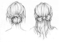 Hair draw / Draw