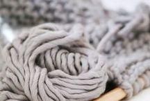 Lana Knitting / #textil #lana #algodón #lino #seda #textile #cotton #wool #silk #linen #knit #knitting #handmade #hechoamano #tricot
