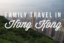 Family travel in Hong Kong / Whether transiting through or as a destination in it's own right, vibrant Hong Kong offers a heady mix of ancient culture and fast paced city living.