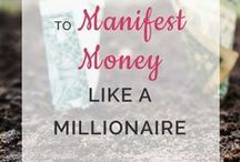 Law of Attraction Money / This board shares tips and guide on how to attract financial abundance into your life, the laws of getting money and how to manage it.