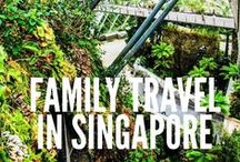 Family travel in Singapore / Small Travel Bugs are heading to Singapore in June! Here's lots of fantastic Singapore inspiration we have gathered from around the net. From theme parks to gorgeous gardens, water parks to delicious food - Singapore is looking like a fantastic family destination. We can't wait to check it out!