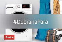 #DobranaPara / #DobranaPara #pralka #laundry #agd #design #Amica www.amica.pl/pralki