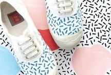 Inspirations DIY Custom Sneakers / Inspis pour Julie (et toutes celles qui aiment les sneakers et le DIY :-))