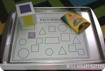 Learning Shapes / Learning shapes is an important task of early childhood. Toddlers and preschoolers can learn to recognize a variety of basic shapes, and older kids will add to their shape knowledge through early elementary school. Learning shapes is an important precursor skill for both math and literacy. This board features fun, interactive, and developmentally appropriate activities for helping kids to learn both 2-D and 3-D shapes. / by Katie @ Gift of Curiosity