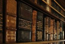 Libri / Libraries around the world, Home Libraries, Vintage Old Leather Books, special reading nooks / by James Cianci