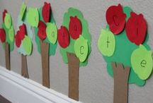 Unit Ideas: Apples / Apples are a very popular topic for unit studies in preschool and kindergarten classrooms. Engage in apple arts and crafts, apple science activities, apple math activities, and more. / by Katie @ Gift of Curiosity