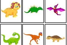 Unit Ideas: Dinosaurs / Teaching kids about dinosaurs- dinosaur crafts, activities and fossil studies.  / by Katie @ Gift of Curiosity