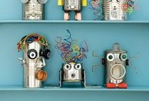 Unit Ideas: Robots / Robot crafts and educational activities for kids. / by Katie @ Gift of Curiosity