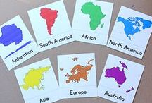 Unit Ideas: Geography / Kids' learning activities related to geography. Geography is the study of the physical features of the earth, including how human activity affects the physical features of the earth and how humans are in turn affected by the physical features of the earth.  / by Katie @ Gift of Curiosity