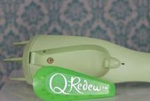 About the Q-Redew / The Q-Redew is a handheld hair steamer that quickly restores moisture, rejuvenates and reshapes hair using warm steam as mist. Used on dry hair it revives in minutes and leaves  hair dry.
