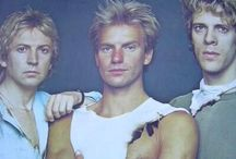 Sting/The Police / What can I say-  Sting is my man!  The first time I laid eyes on him on MTV in the Every Breath You Take video in the 80's, I was obsessed.  So creative, love them! / by Michelle🌺 My Belle