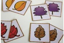 Unit Ideas: Leaves / Kids are always curious about why leaves change color. Teach the about that and the other important role leaves play in our environment.  / by Katie @ Gift of Curiosity
