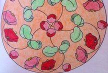 Mis Mandalas / Mandalas pintadas por mi