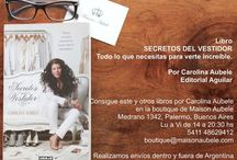 Boutique Maison Aubele / Tienda especializada en moda e imagen personal, aquí podrás encontrar los productos de la línea COLOR para colorimetría en imagen, libros escritos por Carolina Aubele, seminarios y cursos en video  y la línea de esencias Love Scent . Puedes ver y comprar en nuestra boutique de Palermo Soho, Bs As, o entrando en nuestra página web www.maisonaubele.com  Realizamos envíos dentro y fuera de Argentina.  Maison Aubele-Medrano 1342, Palermo Soho, Bs As. De Lu a Vi de 14 a 20:30 hs. +54 11 4862-9412