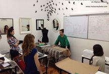 Alumnos apasionados / Alumnos trabajando en Maison Aubele. Nuestros cursos y capacitaciones son teóricas y prácticas. www.maisonaubele.com