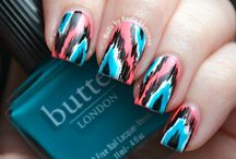 Nails / Nail polish is one of my best friends. Every style available when it comes to nails! / by Michelle Sayre