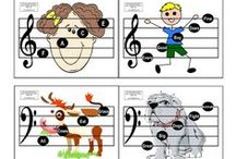 Free Kids Music Theory Printables / A collection of the best free printables to use at home, homeschool, school or preschool for music education.