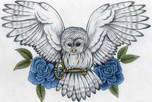 OWL TATTOO'S 'N STUFF