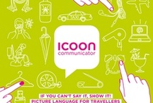 ICOON editions / Imagine you're lost for words: Simply pointing to the right icon suffices to put your conversation partner in the picture.