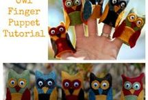 All Kinds of Puppets / DIY Puppet Tutorials which can be used to accompany singing songs at home or in the classroom - an excellent way to bring music education to life.