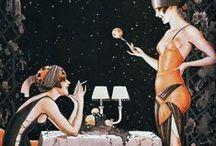 style inspiration / 20's Flapper Girls / Flapper Girls. 20's fashion. Great Gatsby.