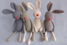 plushes & dolls knitted