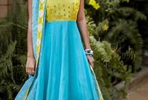 Anarkali Dresses / by saras s