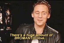 Hiddlesworth | bromance