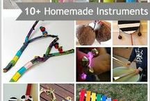 DIY Instruments / Simple tutorials on making your own instruments for kids.