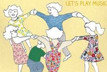 Circle Games for Kids / Musical circle game activities to do with kids. Great for the classroom or outside play.