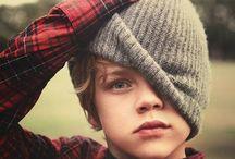 Boy's knitting