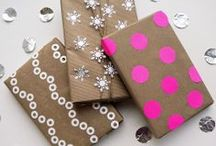 Gift Giving & Wrapping Ideas