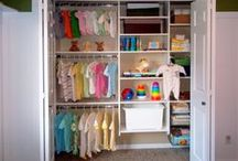 Organising Baby's Things