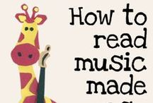 Teaching Kids to Read Music / Easy and fun music theory activities for kids. Great for teaching kids how to read music in a fun and engaging way.