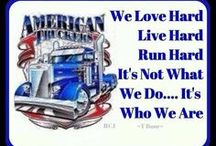 Truckers Move America / Trucking is not just a job, it's a way of life for the long haul trucker. Truck drivers make sacrifices to ensure that products and supplies get where they are needed. Without truck drivers, this country (USA) would come to its knees.