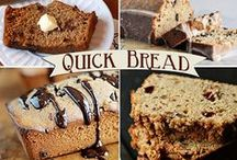 "Quick Breads / Quick Breads do not require yeast and are easier to make than traditional yeast breads that require ""rising"" or ""proofing"" before baking. Quick Breads use baking soda and eggs to make them rise. Would you like to contribute to this board? RULES: 1) Absolutely No Porn 2) No Hate 3) No limit on pinning, but please allow others time to pin also. 4) Pins must link to related website or blog post. 5) Have fun and invite your fellow pinners."