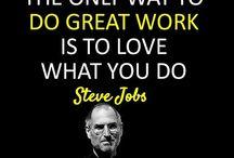 Steve Jobs / Große Worte